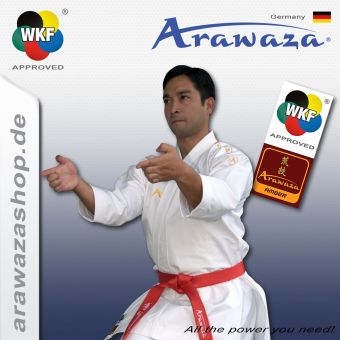 Arawaza Amber Evolution Gold, WKF approved