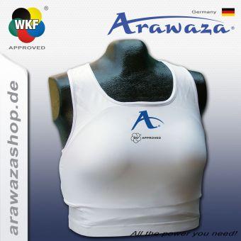 Arawaza Protecteur de poitrine Top, WKF approved M