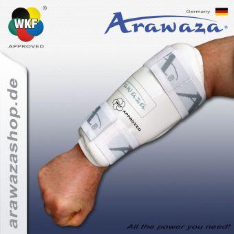 Arawaza Protection de l'avant-bras blanc